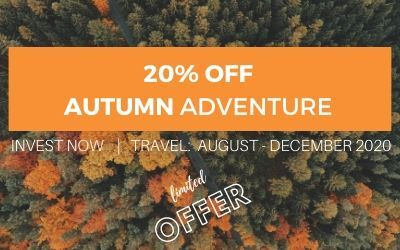 Autumn Active Adventure Package